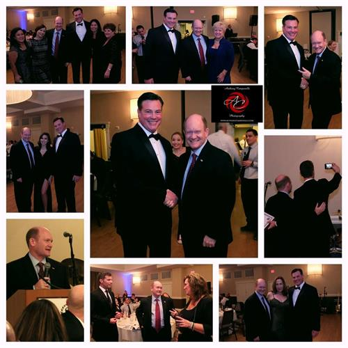 U.S. Senator Chris Coons at the 3rd Annual Black Tie and Sneakers Gala