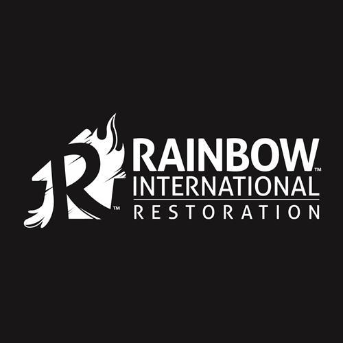 Rainbow Logo Black and White
