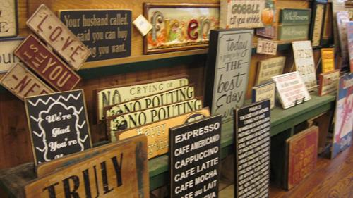 Fun signs and other gifts