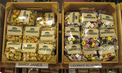 Great selection of Old fashioned Candy & current favorites