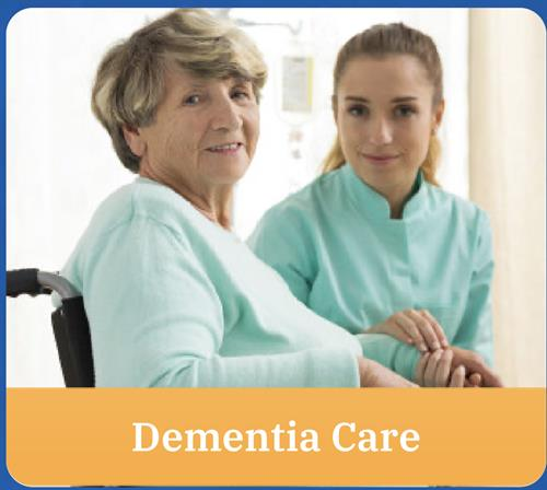 Allow us to provide the right care for your senior loved ones with Dementia.