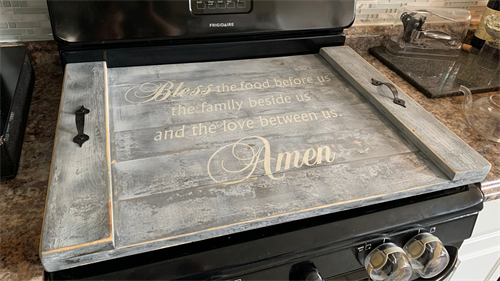 Customization and stove covers