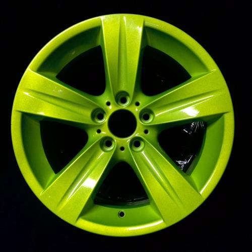 Powder Coated Rim by Crazy Coatings