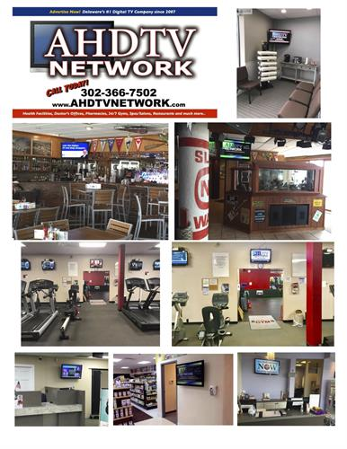 AHDTV Network Local Host Locations Chesapeake Inn, Gym, Living Well Pharmacy, Chiropractic Office
