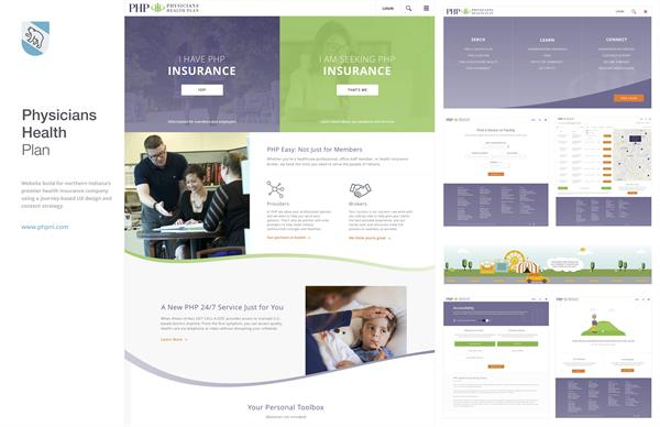 Client Work: Physicians Health Plan - http://www.phpni.com