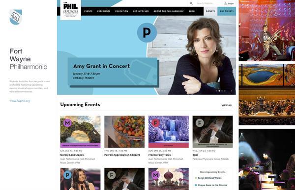 Client Work: FW Philharmonic - http://fwphil.org