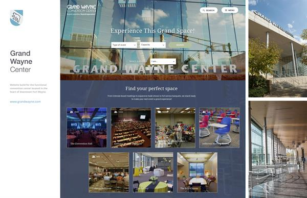 Client Work: Grand Wayne Center - http://grandwayne.com