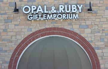 Opal & Ruby Signage 1