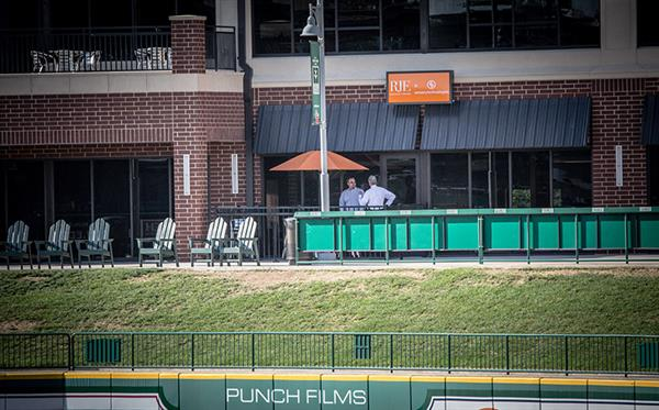 View from ParkVIew Field