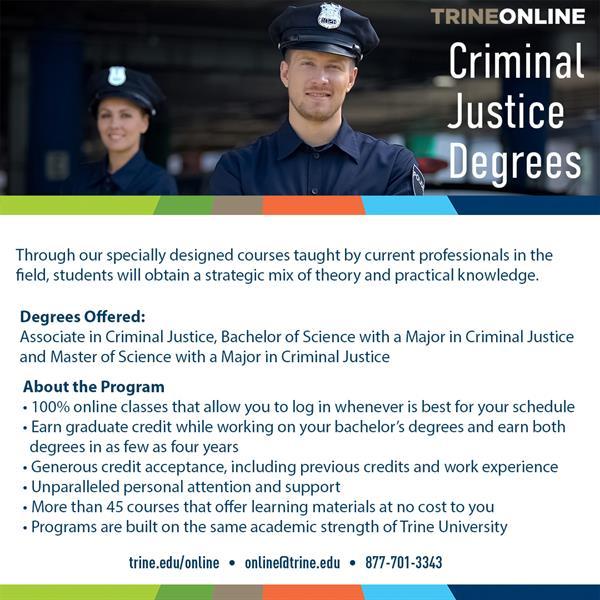 Criminal Justice Degree Programs