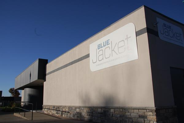 Blue Jacket's Exterior