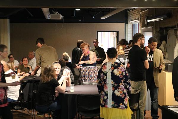 The 2nd Chance Art Exhibit and Fundraiser is an annual fundraiser where Blue Jacket graduates are paired up with local artists to tell their stories in a variety of artistic mediums.