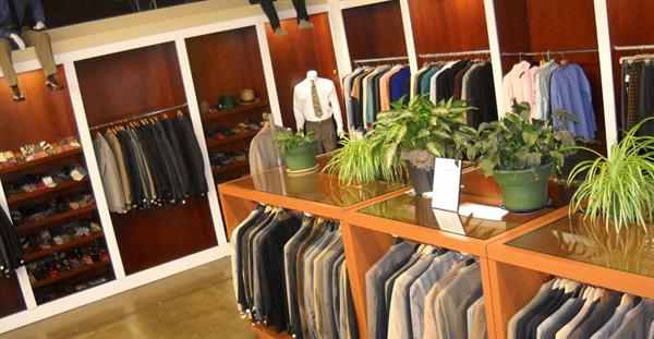 Blue Jacket Clothing Co. Interior