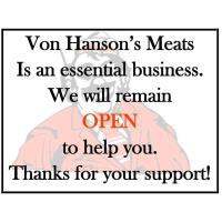 Von Hanson's Meats - Monticello