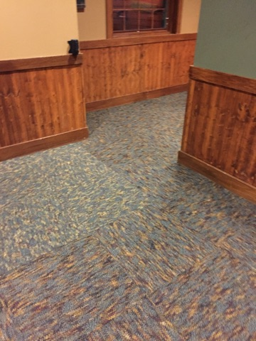 Local Commercial Carpet Tile Install