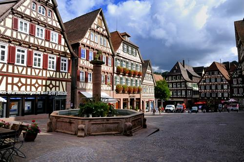 Typical Small Town in Germany