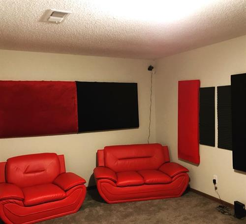 Beats and Bars Productions lounge area