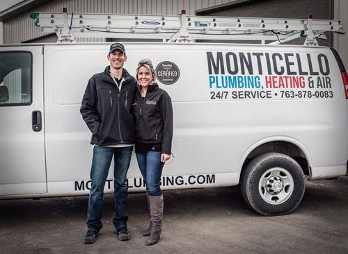 Owners, Mike and Kimberly Mossey