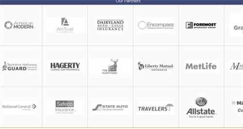Some of the many companies I've partnered with to obtain the best price for you.