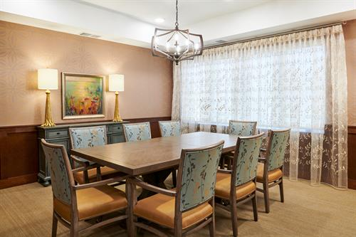 Willows Landing Private Dining Room