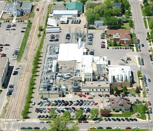 Aerial of the Monticello, MN facility