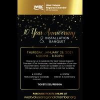 10 Year Anniversary & Installation Banquet