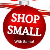 Shop Small with Santa