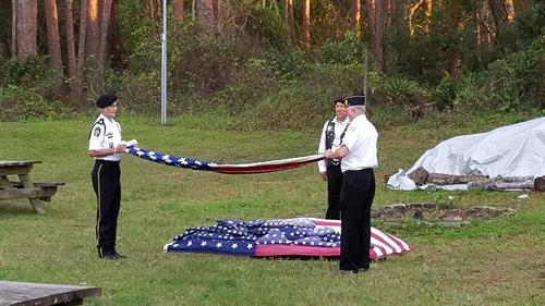 American Flag Retirement