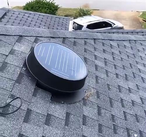 35 Watt Solar fan