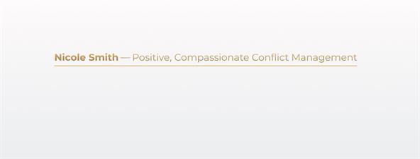 Nicole Smith Conflict Management