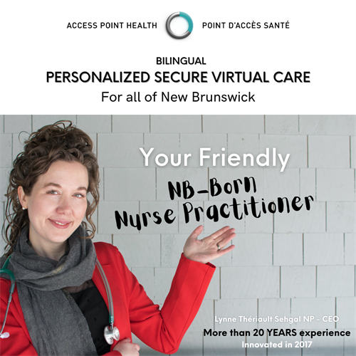 At Access Point Health, you get me ???????; a bilingual NP ?? and you get consistency and more personalized virtual care ?? ?? ??????? by a NB-BORN Nurse Practitioner.