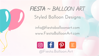 Fiesta Balloon Art