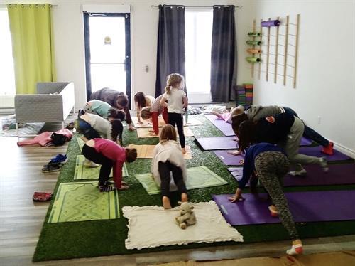 Health & wellness with children's yoga