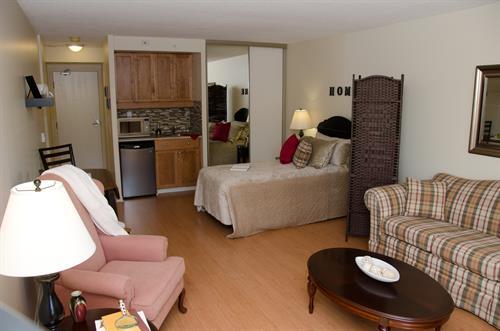 Four apartment styles