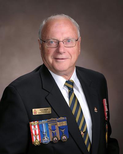 President Don Swain