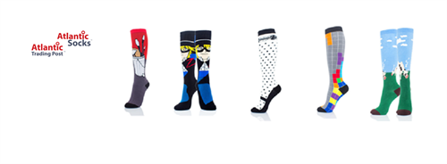 Novelty Socks, Women Knee High, Women Crew, Men Crew