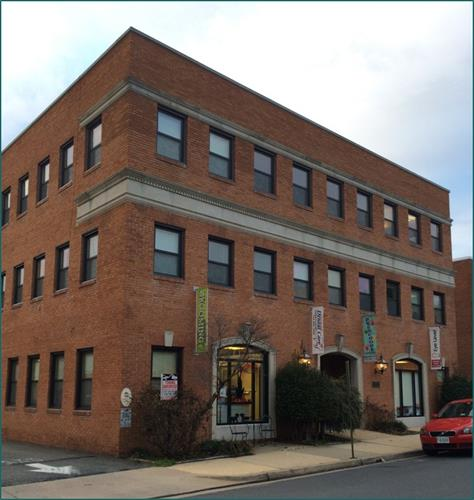 105 N Virginia Ave - Falls Church, Va - Re-purposing and modernization to include ground floor retail service with professional offices on two floors above