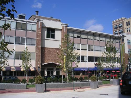 450 West Broad St-Falls Church Va - Modernization, expansion, delivery and management of  Ground floor retail and service with profesional offices on three floors above. Development included entitlement to permit adjacent mixed use and residential townhomes.