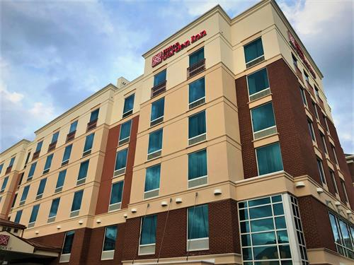 Hilton Garden Inn - Falls Church, Va - assembly and entitlement to allow for  new hotel with decked parking