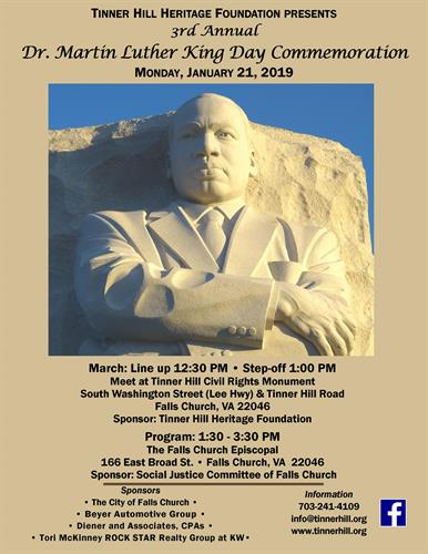 3rd Annual Martin Luther King Day March For Social Justice Unity