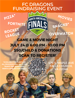 FC Dragons Fundraising Event