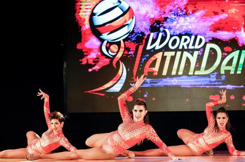 2018 World Latin Dance Cup Professional Ladies Bachata Team Champions