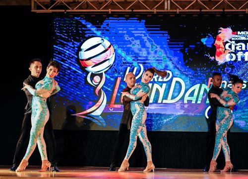 2018 World Latin Dance Cup Professional Bachata Team Champions