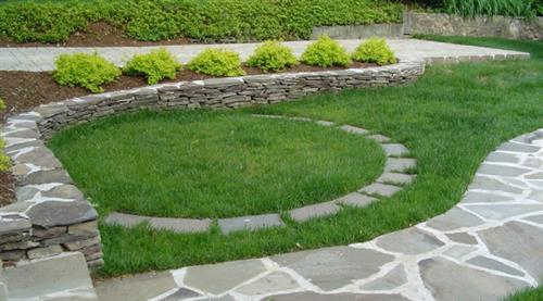 Stone work by Terra Landscape and Design