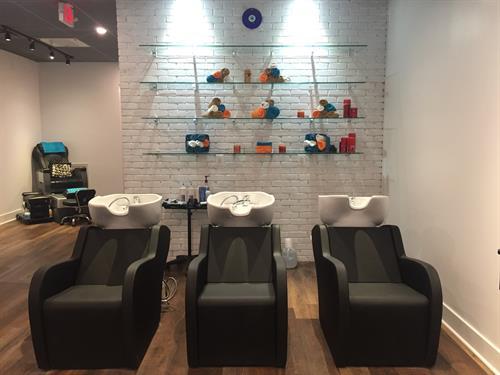 Kess Hair & Skincare - Shampoo Area