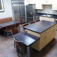 ICR + Furniture: corporate kitchen project