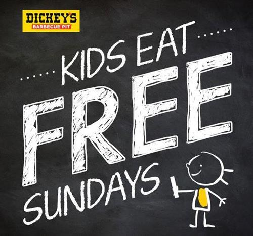Kids Eat Free every Sunday (with one paid adult purchase)