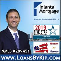 Kip Warzon of Inlanta Mortgage, Inc.