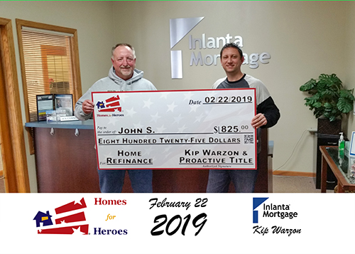 Homes for Heroes closing