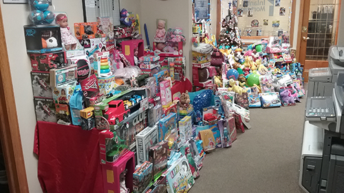 My 9th annual toy drive to benefit Children's Hospital of WI, Dec 2018